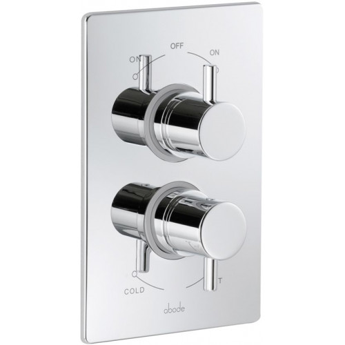 Abode - Euphoria Concealed Thermostatic Shower Mixer Dual Exit