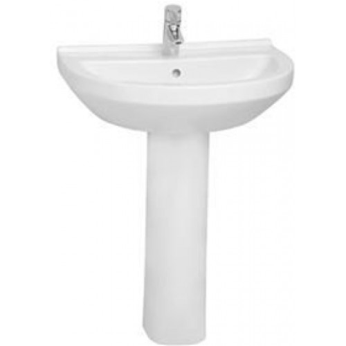 Vitra - S50 Washbasin 65cm Round 1TH
