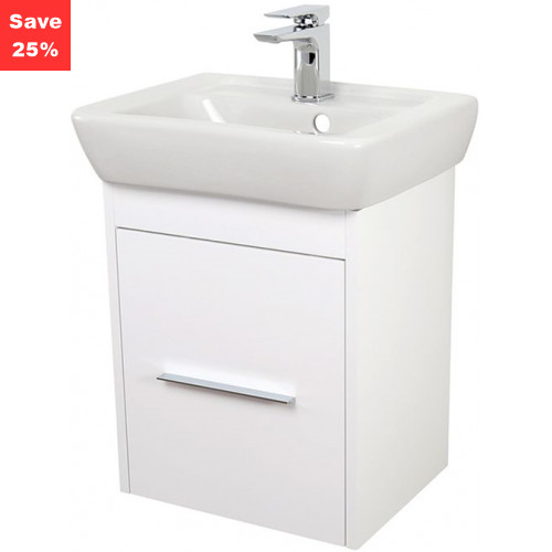 Origins - Ruby Vanity 450mm White