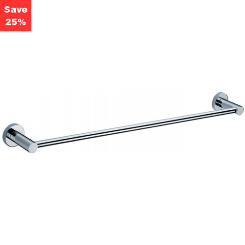 Origins - Halo Towel Rail Single Chrome