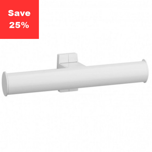 Pellet AL Arsis Toilet Roll Holder Twin White