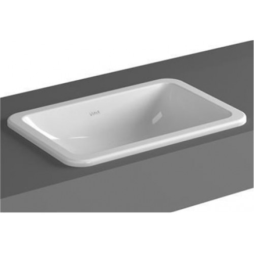 Vitra - S20 Counter-Top Basin 55x36cm Square