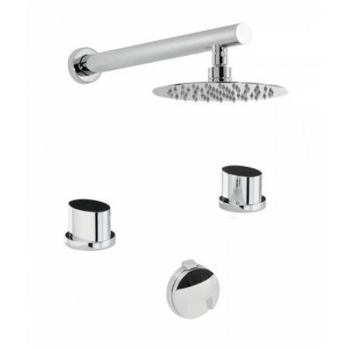 Abode - Debut Thermo 2H Bath Overflow Filler Kit