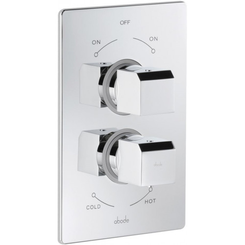 Abode - Zeal Concealed Thermo Shower Mixer - 1 Exit