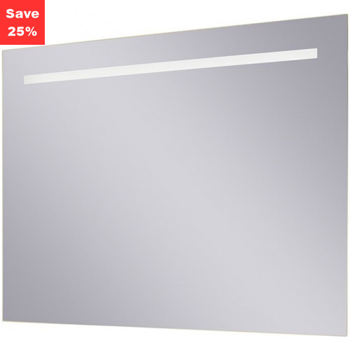 Origins - Sapphire LED Mirror 800x600x38mm (WxDxH) Single Light Top