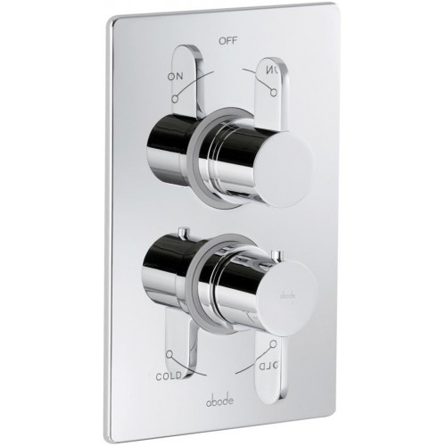Abode - Bliss Concealed Thermo Shower Valve - 2 Exit