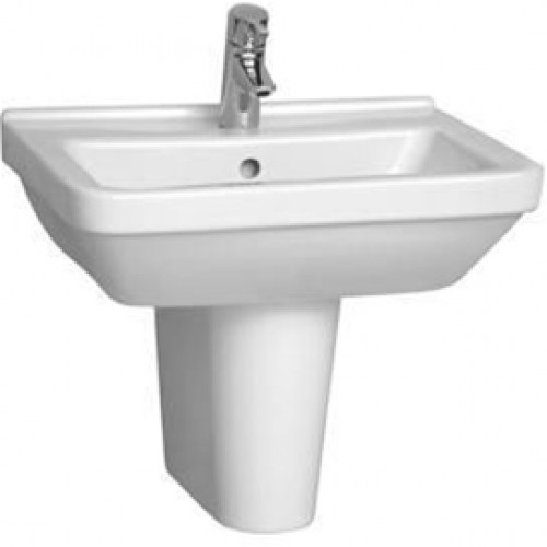 Vitra - S50 Washbasin 55cm Square 1TH
