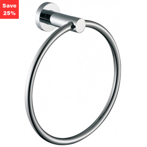 Origins - Halo Towel Ring Chrome