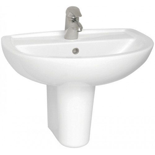 Vitra - Layton Washbasin 65cm 1TH