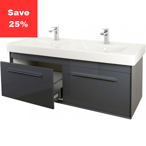 Ruby Vanity 1300mm Anthracite