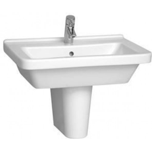 Vitra - S50 Washbasin 65cm Square 1TH