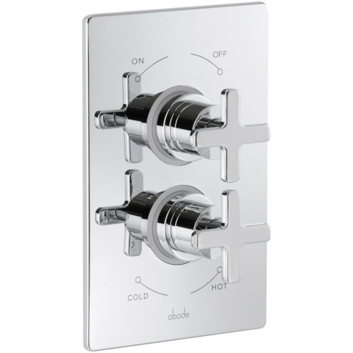 Abode - Serenitie Concealed Plate Mounted Thermostatic Shower Mixer