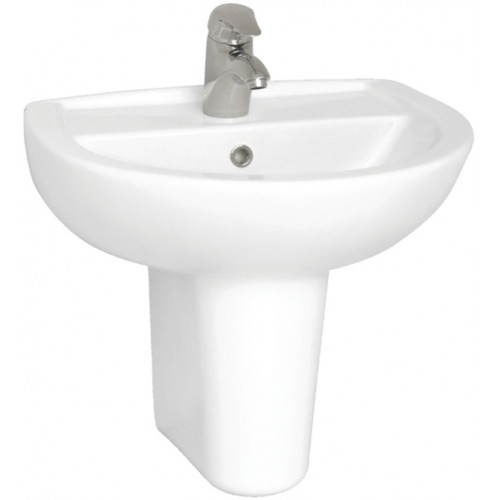 Vitra - Layton Washbasin 55cm 2TH