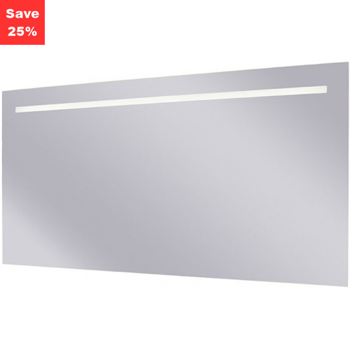 Origins - Sapphire LED Mirror 1200x600x38mm (WxDxH) Single Light Top