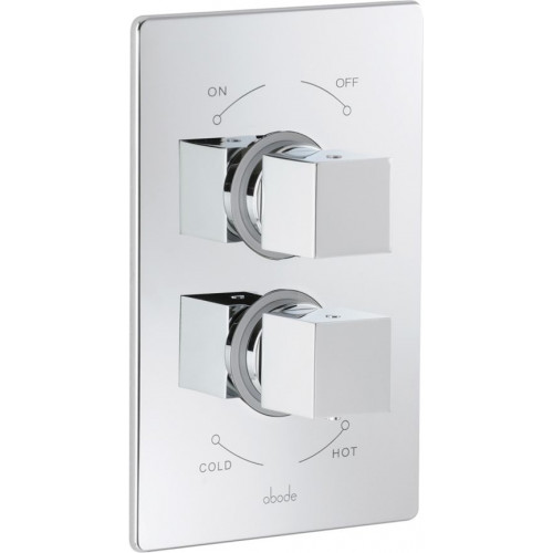Abode - Euphoria Concealed Thermostatic Shower Mixer