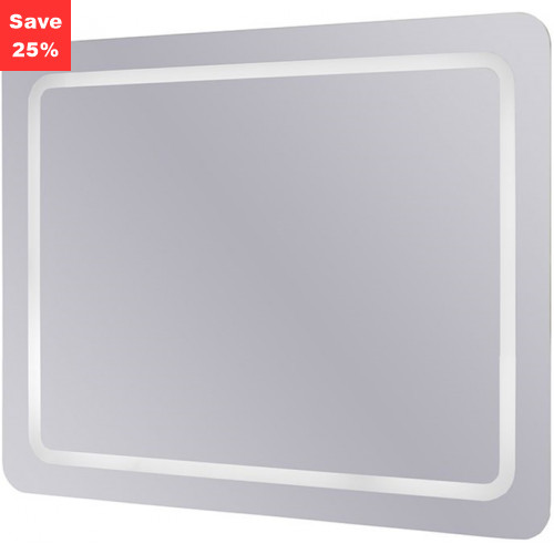 Origins - Emerald LED Mirror Portrait/Landscape 800x640x45mm