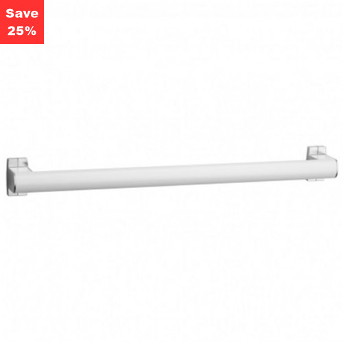 Origins - Pellet AL Aris Single Towel Bar 800mm White Chrome