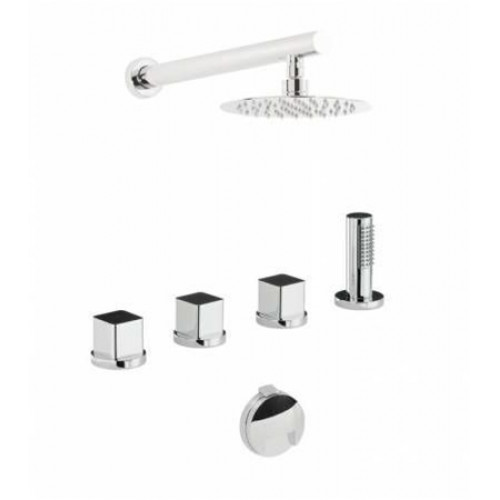 Abode - Rapport Deck Mounted Bath Overflow Kit