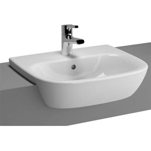 Vitra - Zentrum Semi-Recessed Basin 50cm 1TH