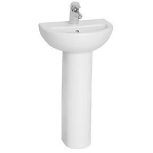 Vitra - Milton Washbasin 45cm 2TH