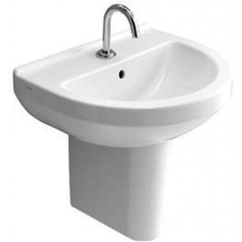 Vitra - S50 Washbasin 55cm Round 1TH