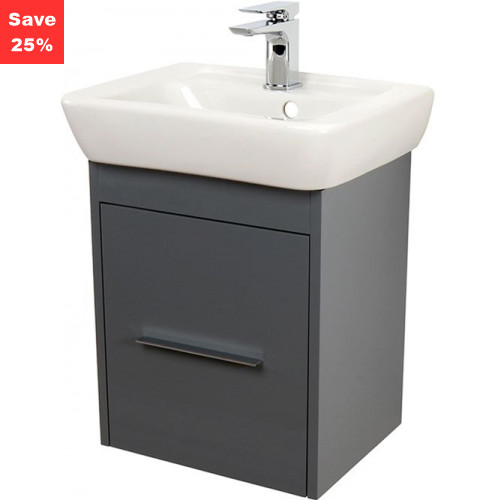 Origins - Ruby Vanity 450mm Anthracite