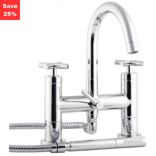 Origins - Sunstone Deck Mounted Bath Shower Mixer Tap