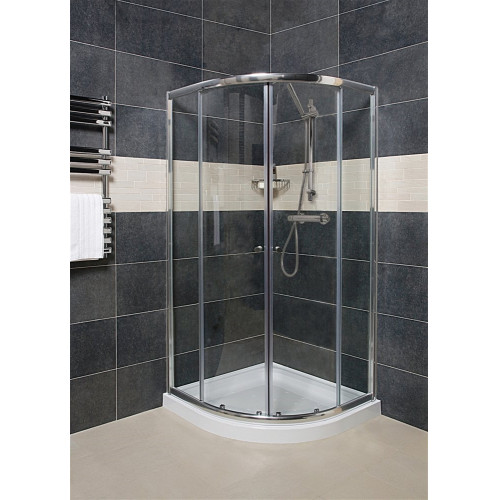 Origins - Wellspring 800mm Quadrant Shower Enclosure