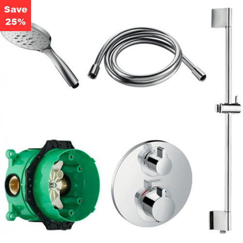 KIT T01 - Opal Thermostatic Shower Kit