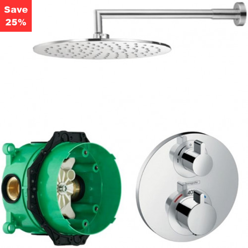 KIT EP02 - Onyx Plus Thermostatic Shower Kit