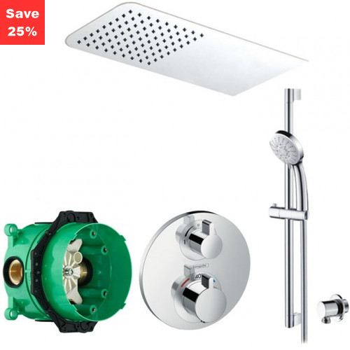 KIT EP08 - Onyx Plus Thermostatic Shower Kit