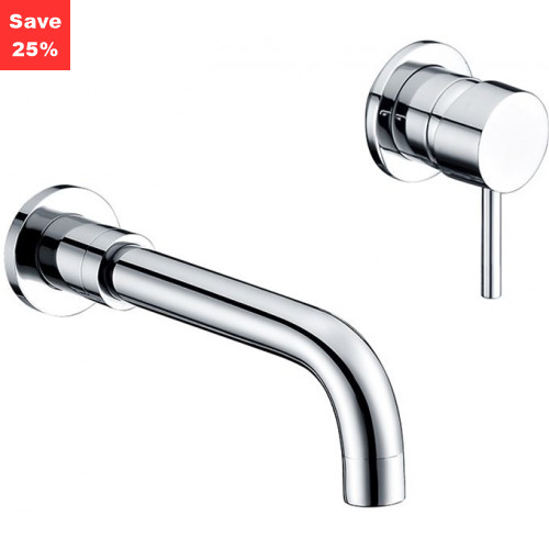 Jade Wall Mounted Basin Mixer Tap
