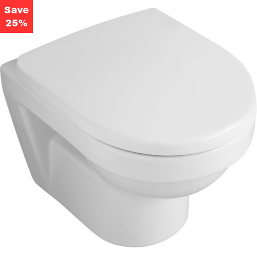 Emerald Compact WH WC Pan 355x480mm