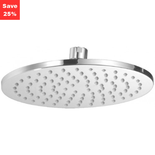 Onyx Round Fixed Shower Head 200mm Chrome