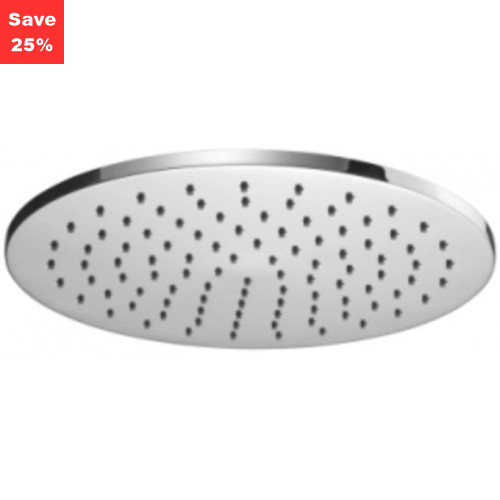 Onyx Round Fixed Shower Head 250mm Chrome
