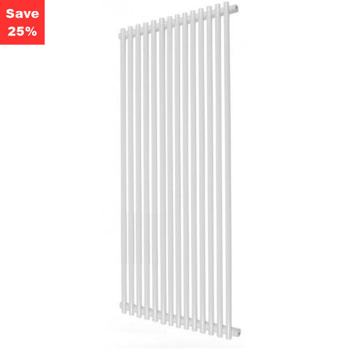 Tanzanite White Radiator - 1800 x 590mm