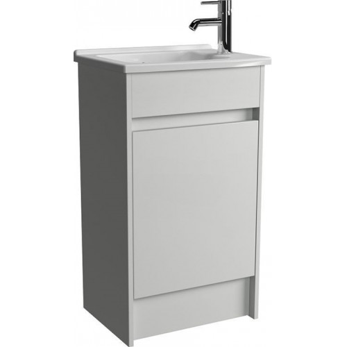 S50 Floor Standing Washbasin Unit 50cm Incl. Basin
