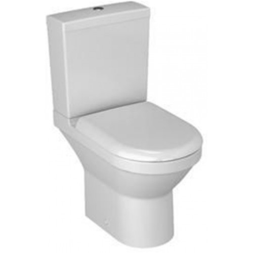 S50 Compact Close-Coupled Open Back WC Pan