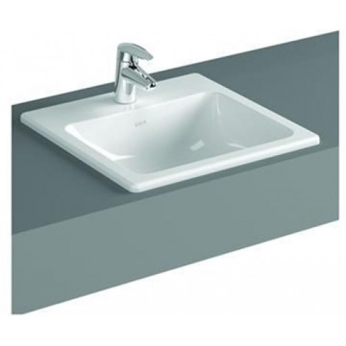 S20 Counter Basin 55cm Square 1TH