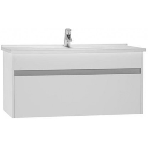 S50 Washbasin Unit 100cm Incl. Basin