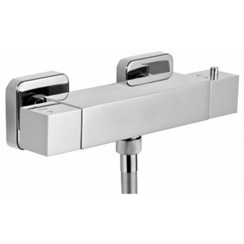 Zeal Exposed Thermostatic Bar Shower Valve