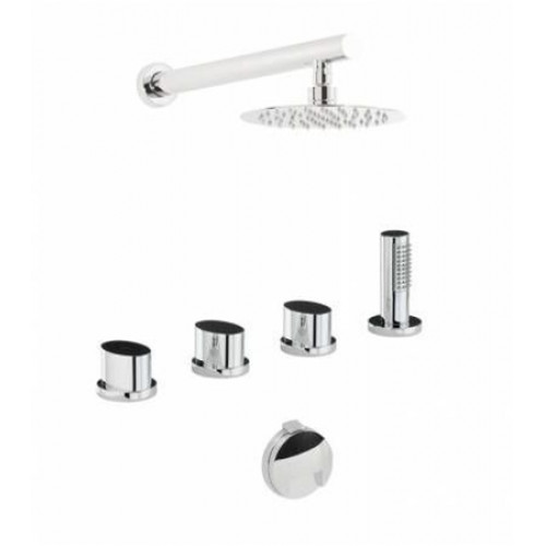 Debut Thermo Deck Mounted Bath Overflow Filler Kit