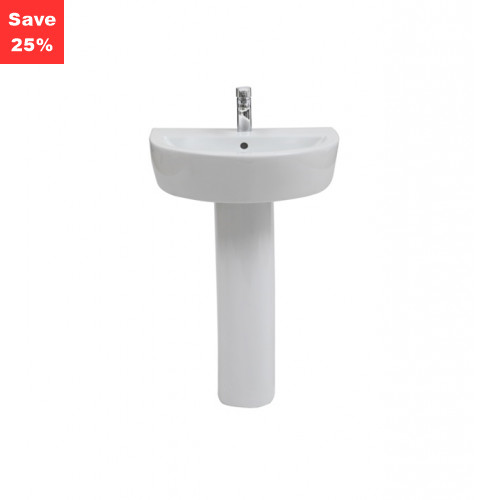 Salerno 550mm Basin 1TH
