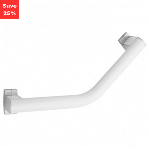 Pellet AL Arsis Angled Grab Bar 200mm White Chrome