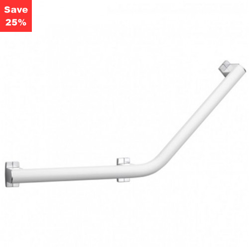 Pellet AL Arsis Angled Grab Bar 400mm White Chrome