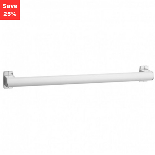 Pellet AL Arsis Grab Bar 600mm White Chrome