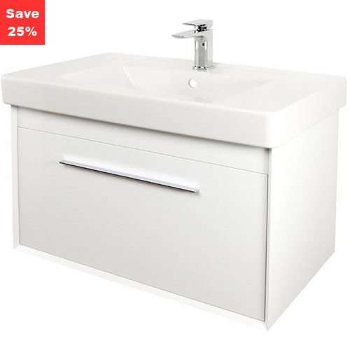 Ruby Vanity 800mm White