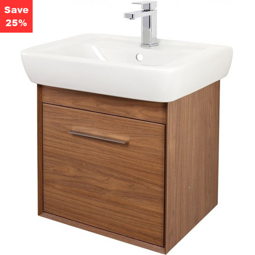 Ruby Vanity 550mm Walnut